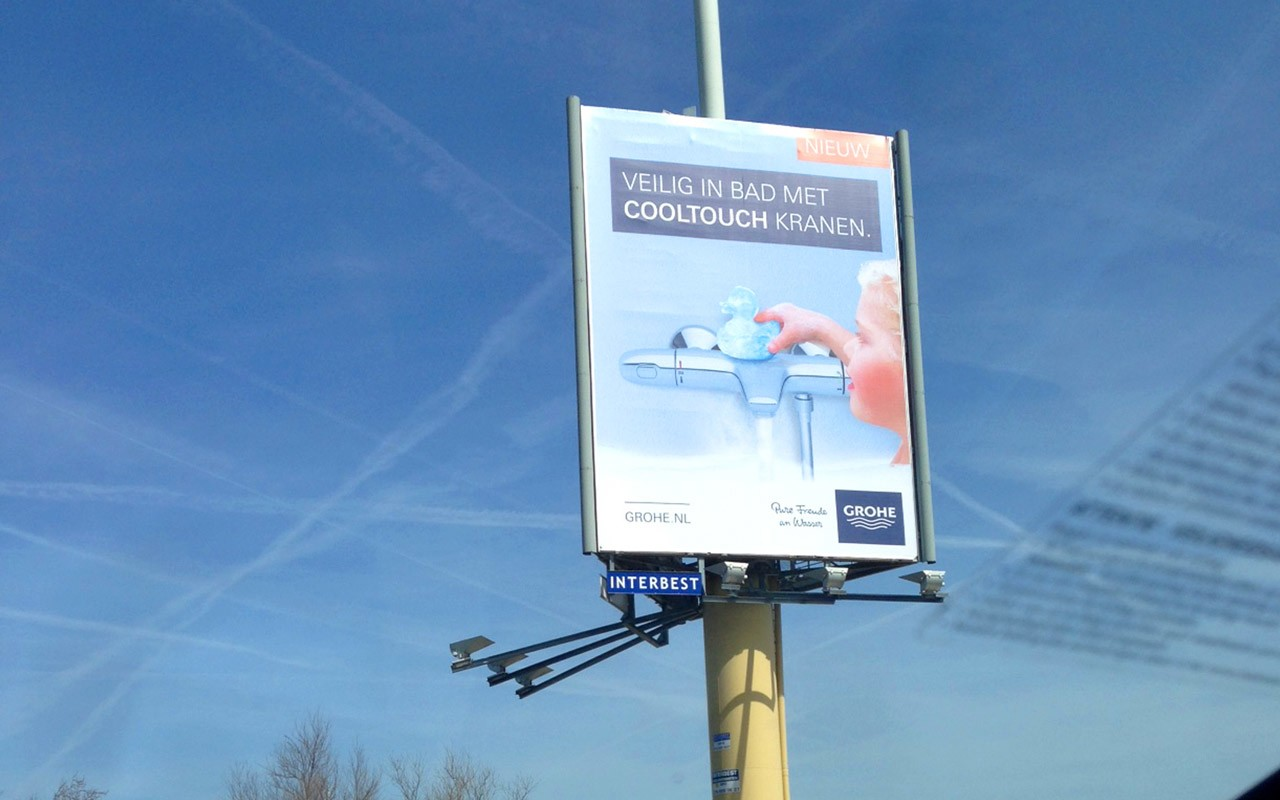 Grohe cooltouch marketing