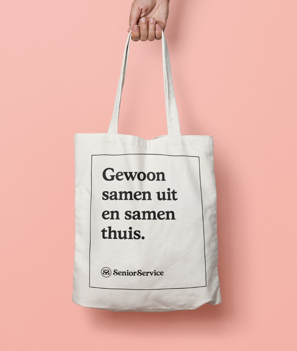 Senior Service Canvas Bag